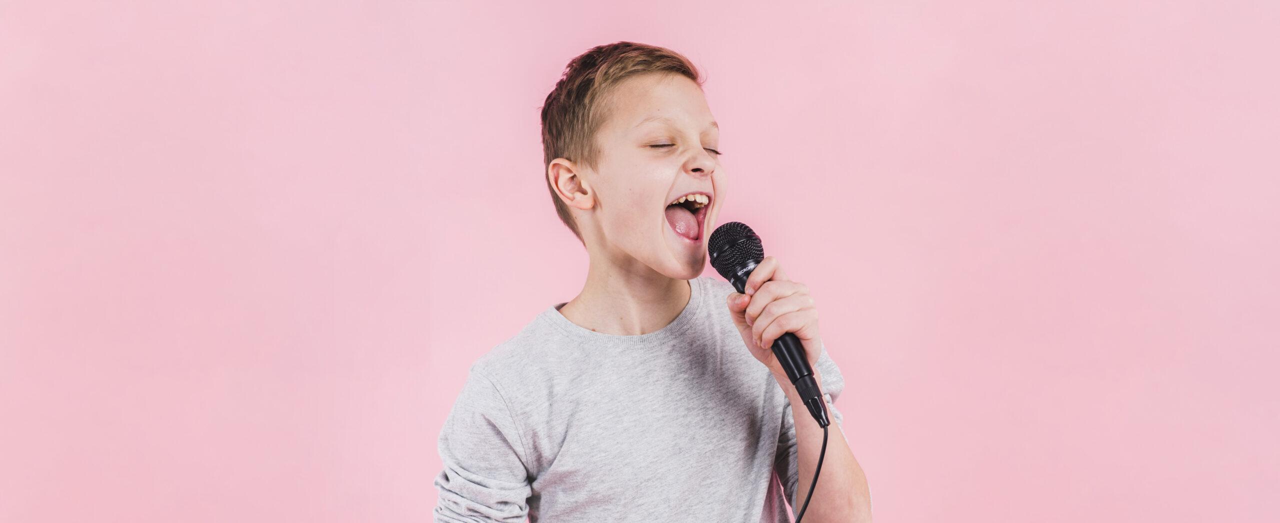 jongen-zingen